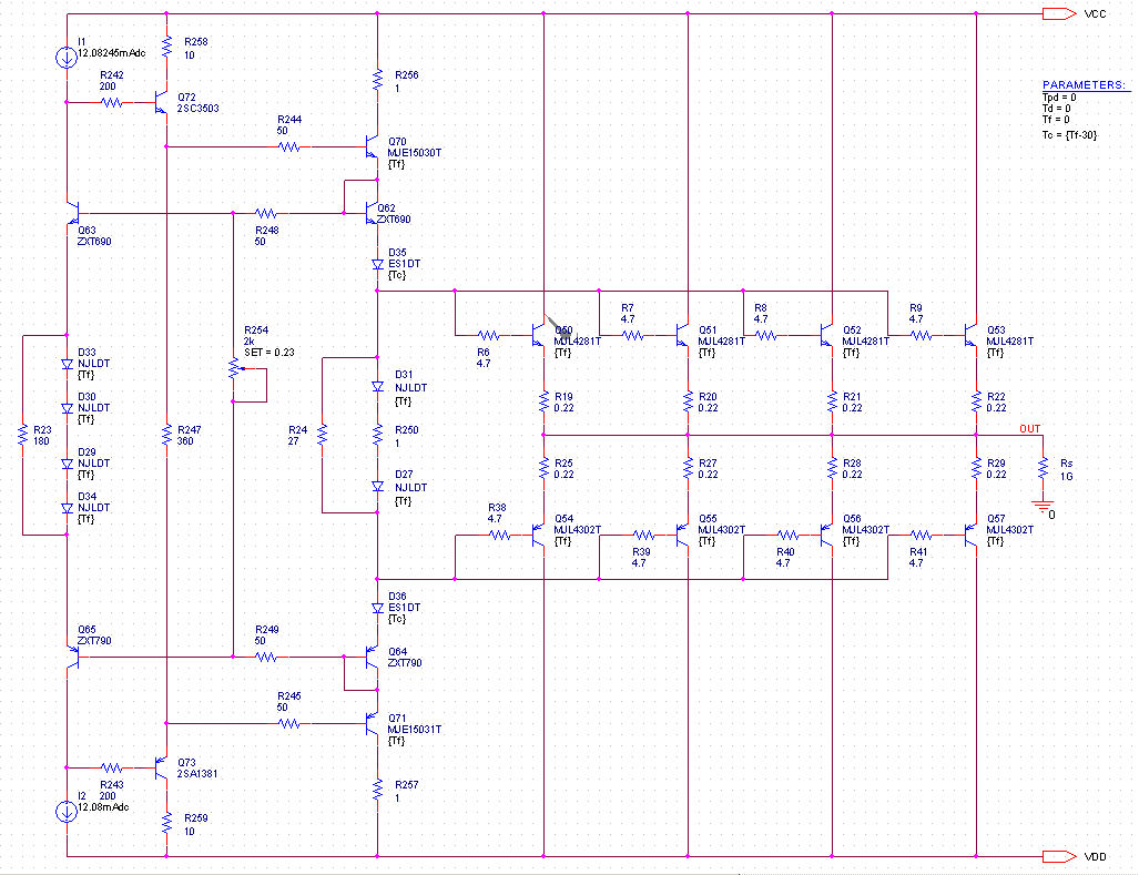 The Yap Output Stage Bias Understand This Filter And Biasing Circuit Electrical What Is Advantage Of Scheme To Find Out Recall Standard Locanthi T Most Annoying Problem With